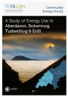 Cover of the Ynni Llyn Energy Survey report